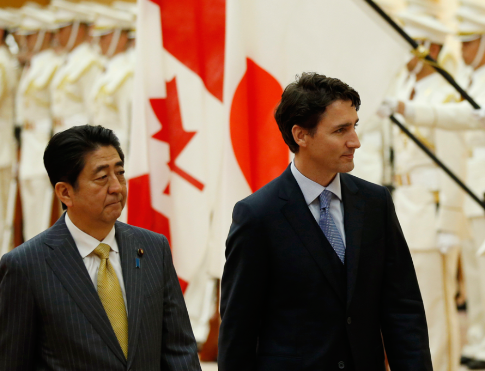 In wake of Trudeau's summit no-show, Japan raises possibility of a Trans-Pacific Partnership without Canada