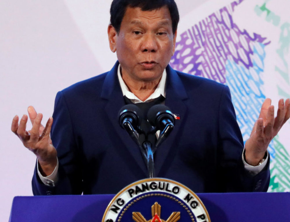 Philippine President Cancels Deal to Buy Canadian Helicopters