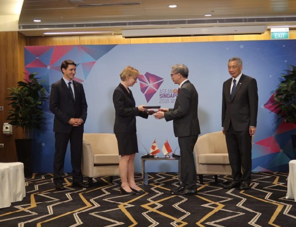 Canada and Singapore sign Memorandum of Understanding on Cybersecurity Cooperation