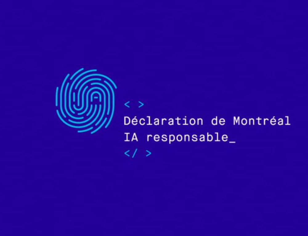 The Montreal Declaration for the Responsible Development of Artificial Intelligence Launched