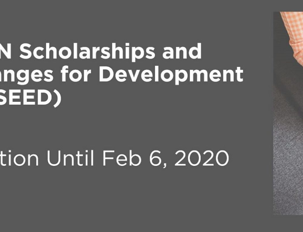 Canada-ASEAN Scholarships and Educational Exchanges for Development (SEED) Program Open For Application