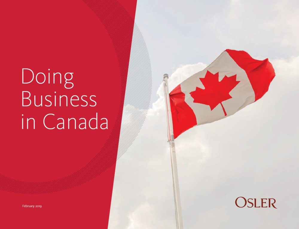 Doing Business in Canada Guide