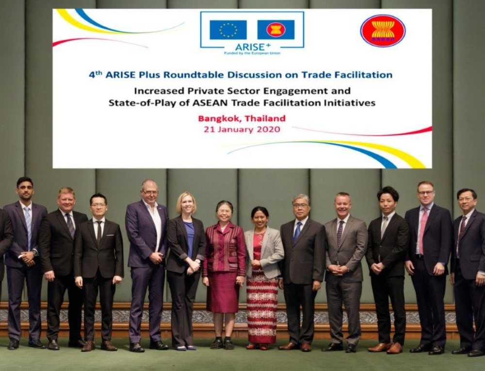 CABC Attends the ARISE+ Trade Facilitation Roundtable Discussion (21-22 Jan, Bangkok)