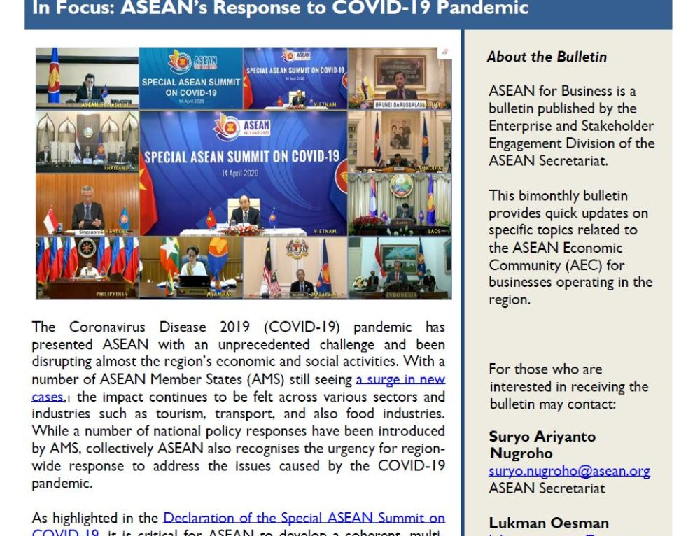 ASEAN For Business – May 2020