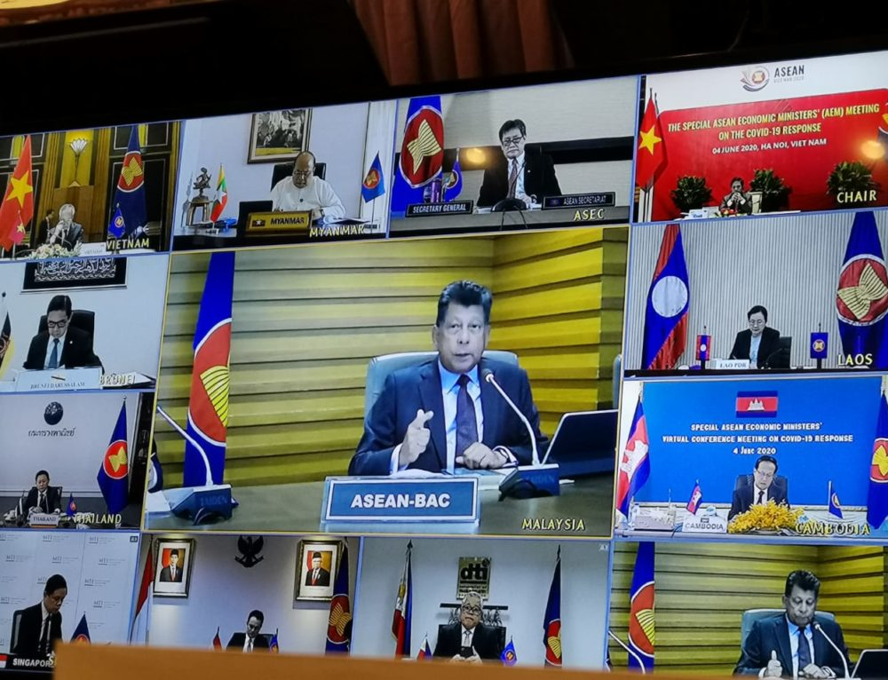 ASEAN-BAC urges ASEAN economic leaders to expedite six short-term priority measures for economic recovery