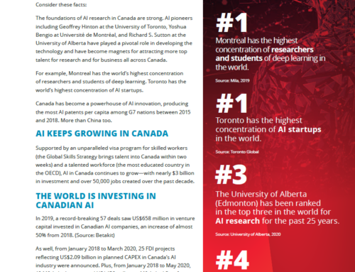 Factsheet on AI in Canada